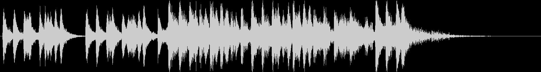 イントロ、弦、ストリングス、気品、知的の未再生の波形