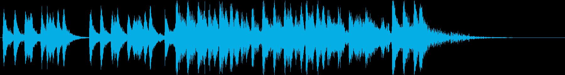 イントロ、弦、ストリングス、気品、知的の再生済みの波形