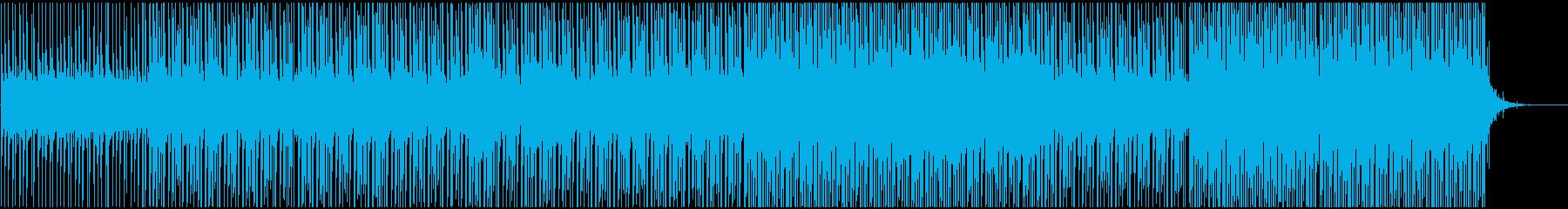 サイエンス系映像と合うの再生済みの波形