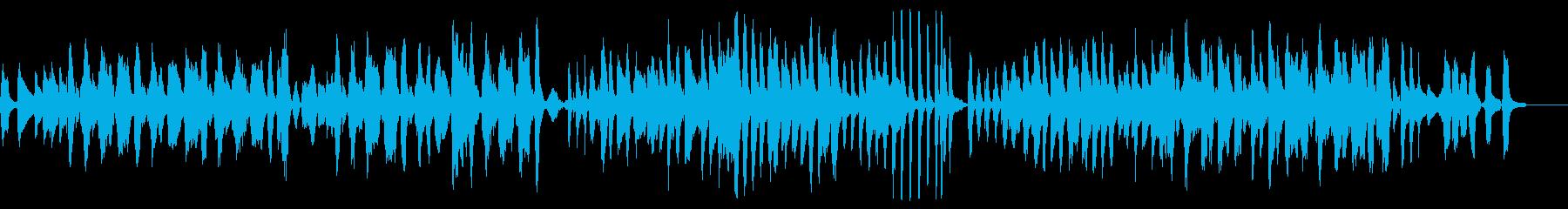 ズッコケ調のJazz調の面白い楽曲の再生済みの波形