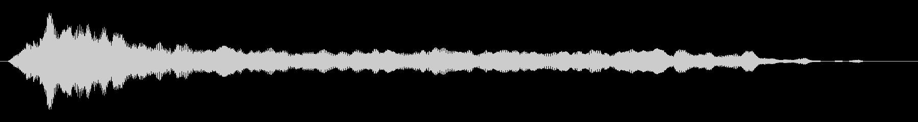 素材 ガラガラピアノドローン03の未再生の波形
