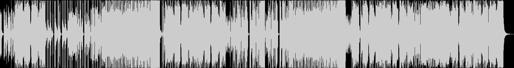 ドープなK-POPダンスビーツの未再生の波形