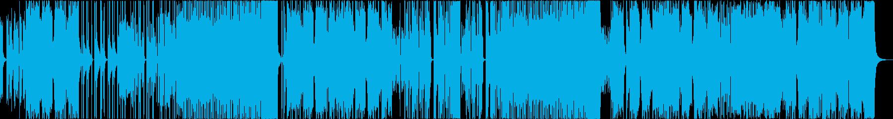 ドープなK-POPダンスビーツの再生済みの波形