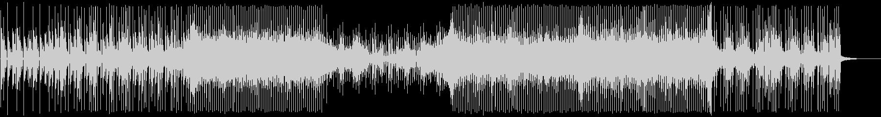 ピアノとエレクトロニカの未再生の波形