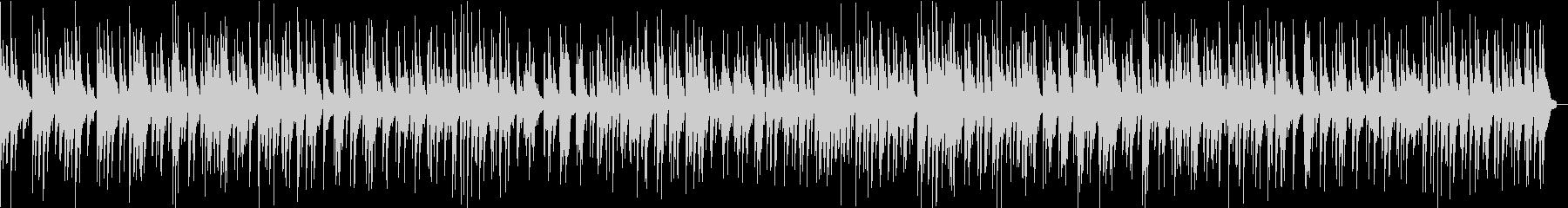 童謡「シャボン玉」のジャズアレンジカバーの未再生の波形