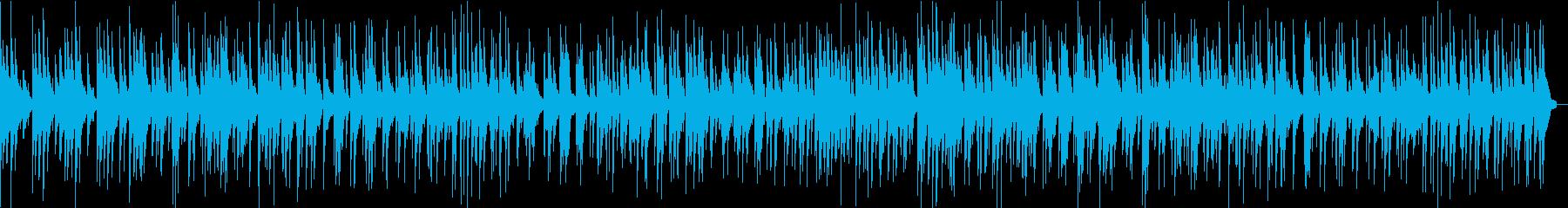 童謡「シャボン玉」のジャズアレンジカバーの再生済みの波形
