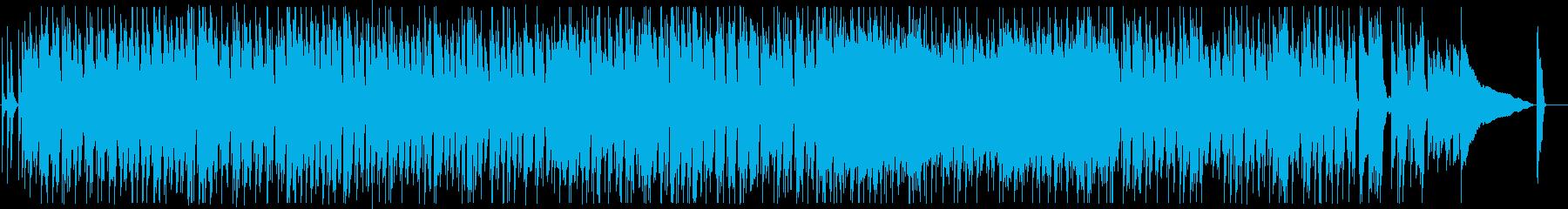 明るく楽しいアコースティックのブルースの再生済みの波形
