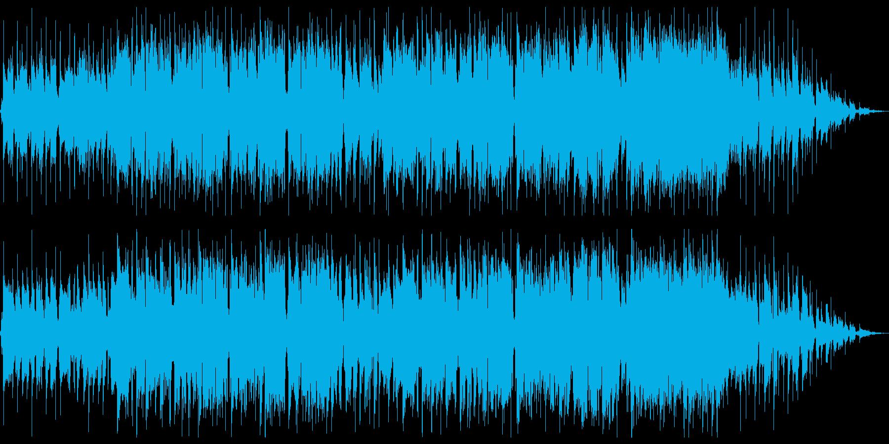 異国の大衆酒場をイメージした曲の再生済みの波形