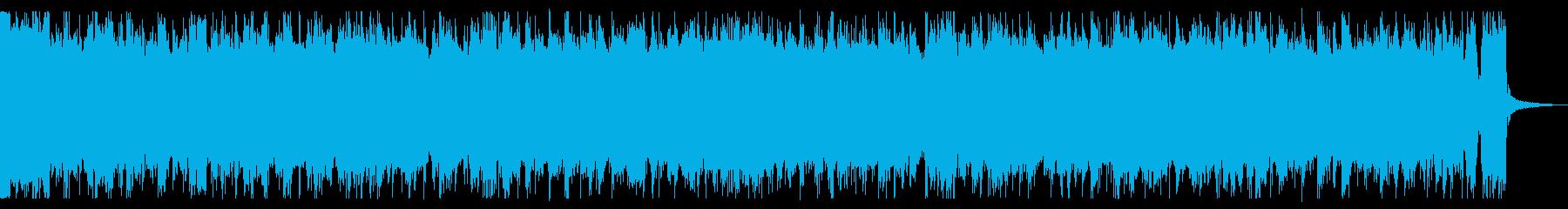 荒々しいギターロック_No643_3の再生済みの波形