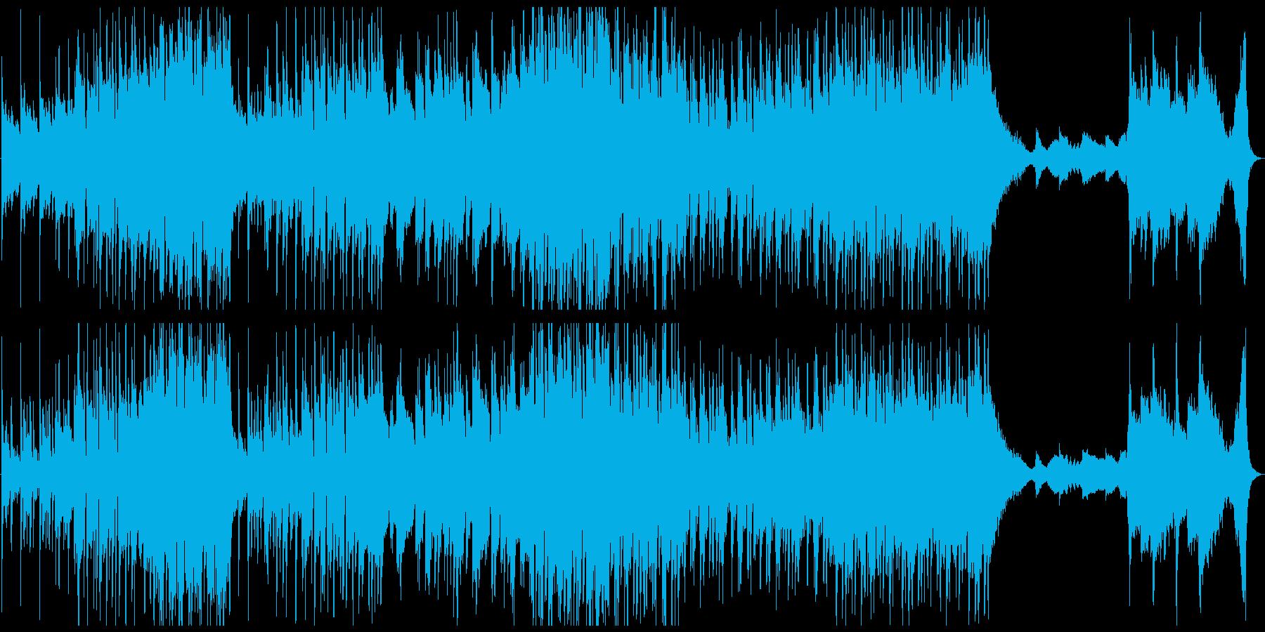 絵本のような可愛い世界観のBGMの再生済みの波形