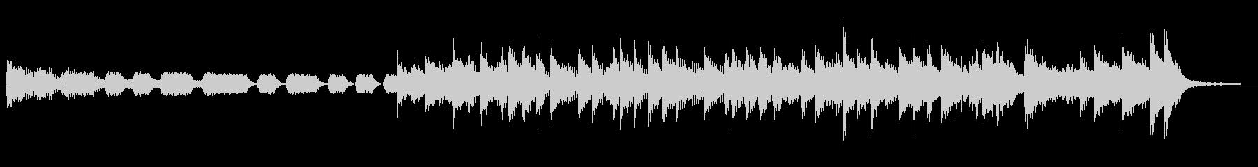 出囃子15秒ロックピアノテイスト音源の未再生の波形