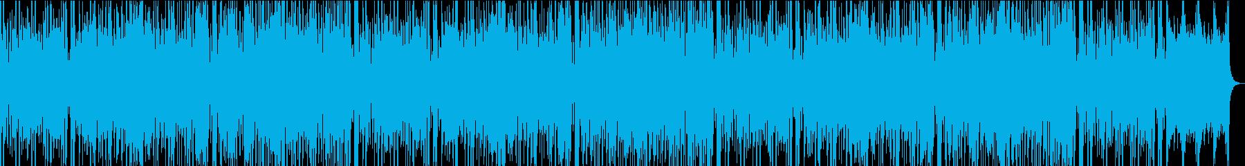13秒でサビ、おだやか/カラオケの再生済みの波形