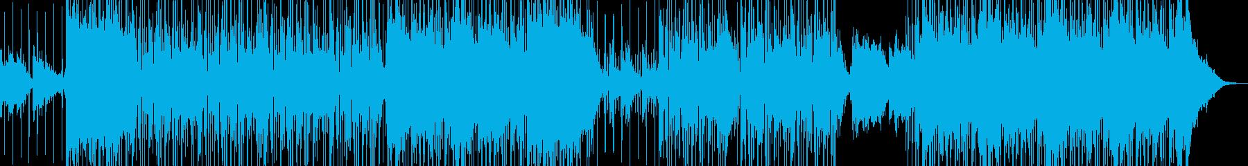 オシャレ切ないR&Bの再生済みの波形