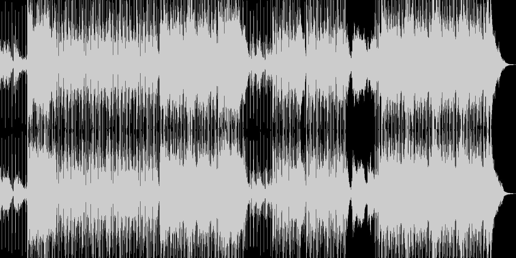 オシャレ切ないR&Bの未再生の波形
