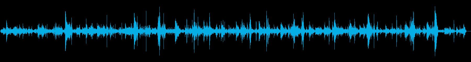 ブクブク(泡の音)長めの再生済みの波形