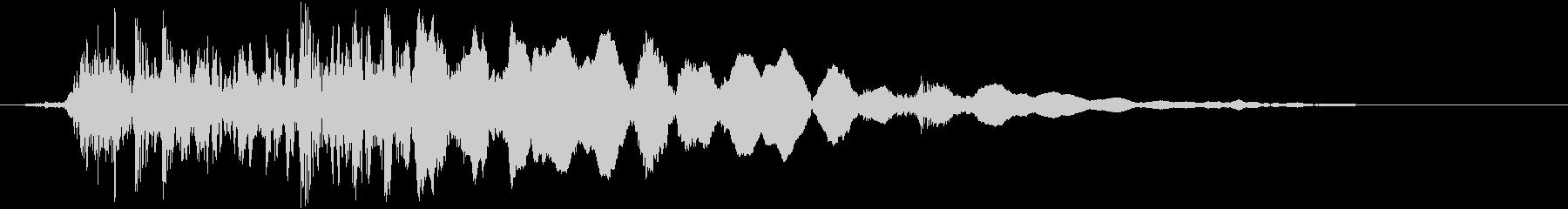 クローバーオンウッド:ウッドリリースのみの未再生の波形