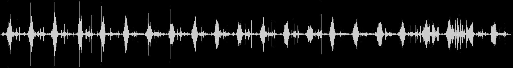 INT:ハンド酸素マスク、クローズ...の未再生の波形