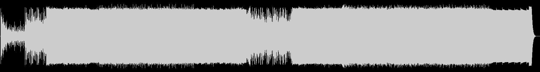 ドローン動画に最適な壮大な曲の未再生の波形