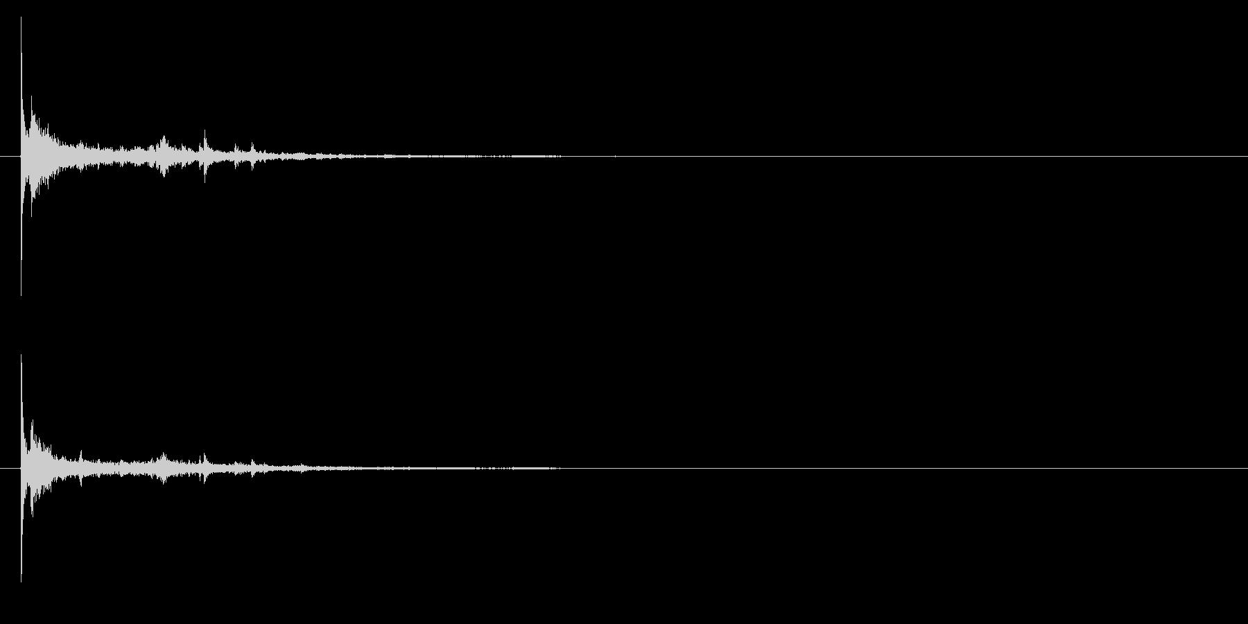 電球の破裂-04の未再生の波形
