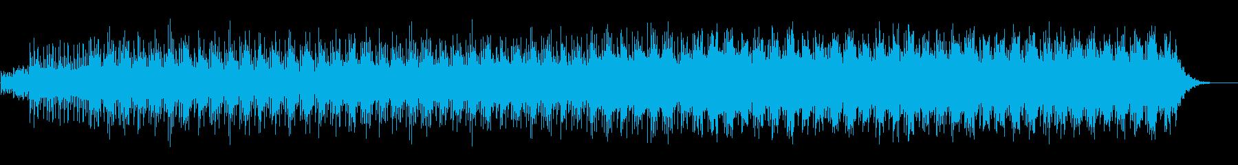 幻想的で優しいヒーリング系のアンビエントの再生済みの波形