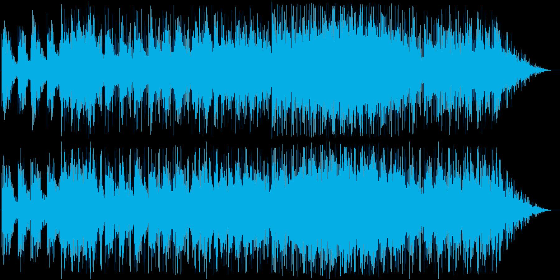 柔らかく切なく広がりのある曲*メロ抜きの再生済みの波形