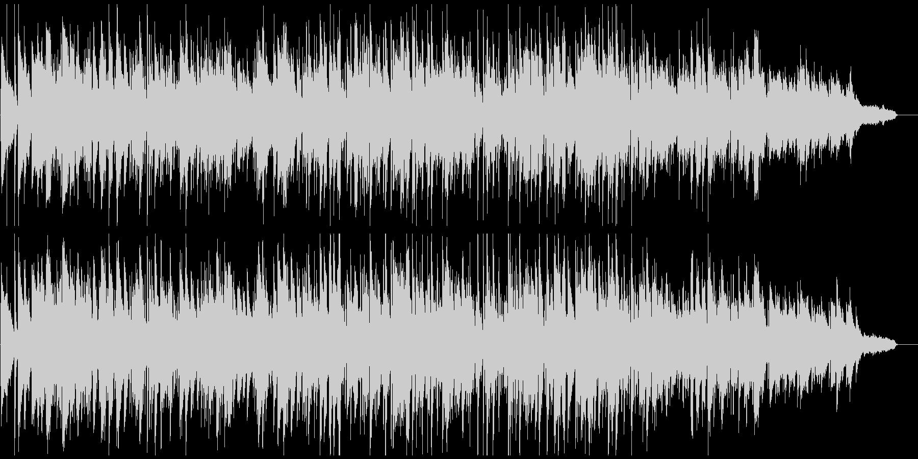優しい紳士のボサノバ、素敵な低音メロディの未再生の波形