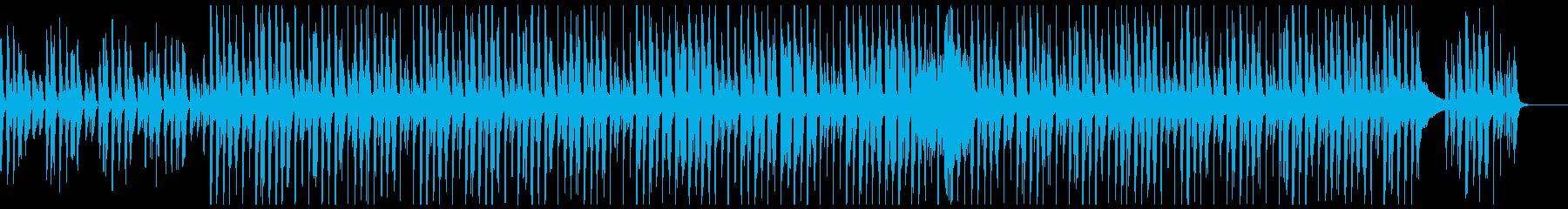 ほのぼのかわいいアコースティックポップの再生済みの波形