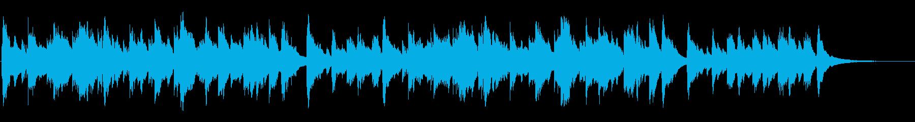 おだやか サーフ 海岸 海辺 波音の再生済みの波形