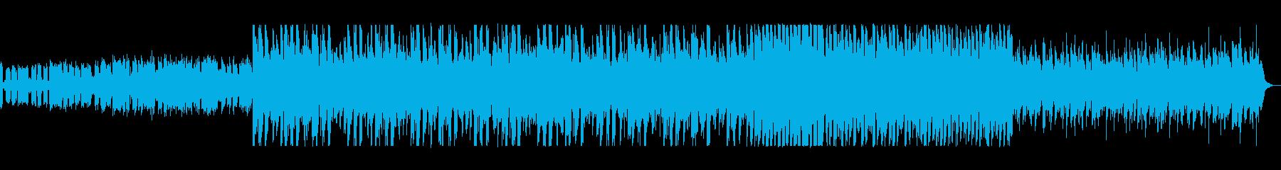 近未来的キャッチーなシンセEDMテクノの再生済みの波形