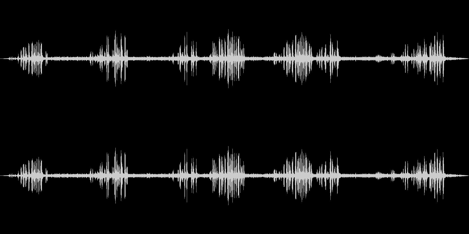 森の中の鳥0-40の未再生の波形
