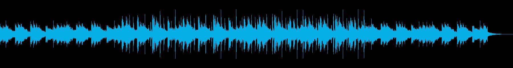 ユーロ風 切な明かるいフルートとビートの再生済みの波形