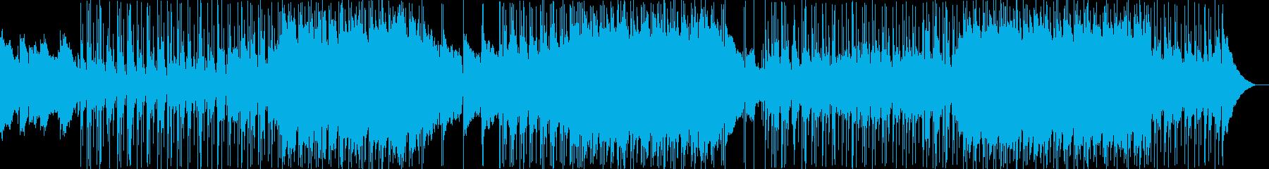 ポップソフトポップ/ロックインスト...の再生済みの波形