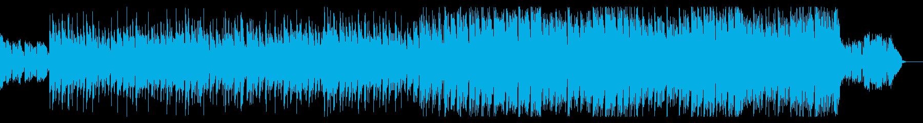 シネマティックなギターアンビエントの再生済みの波形