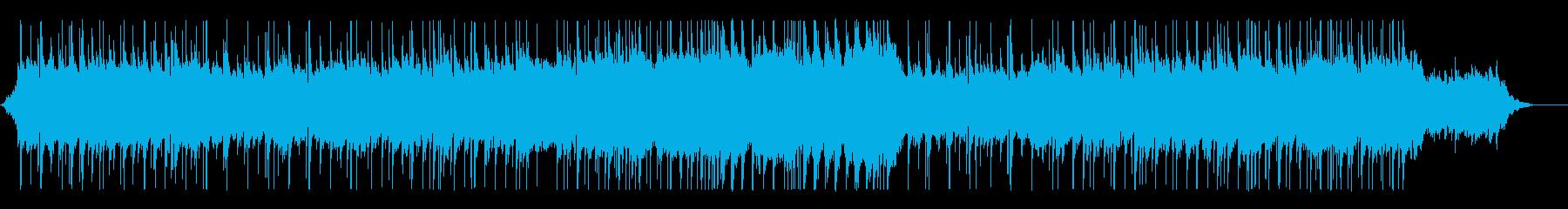 幻想的アルペジオが綺麗なバラードインストの再生済みの波形