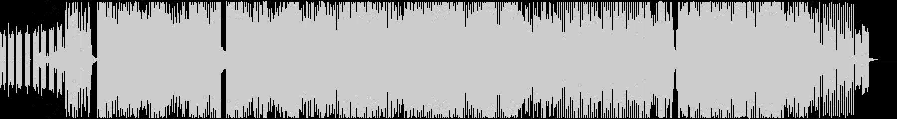 サイケデリックなトランス・レイヴの未再生の波形