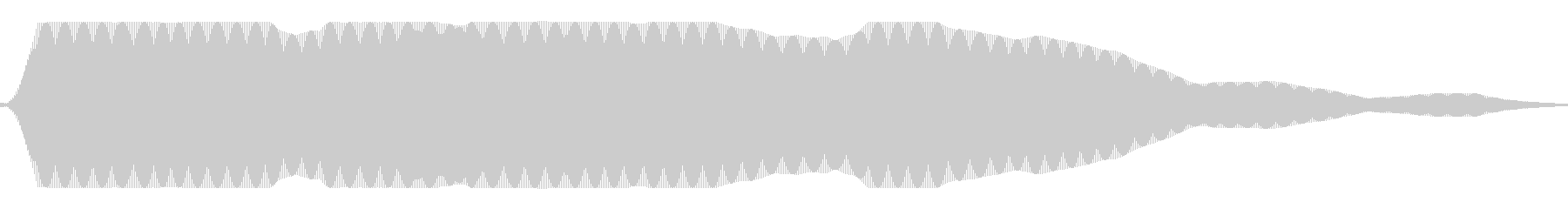 Power (sound that extends for a long time in the low-time range)'s unreproduced waveform