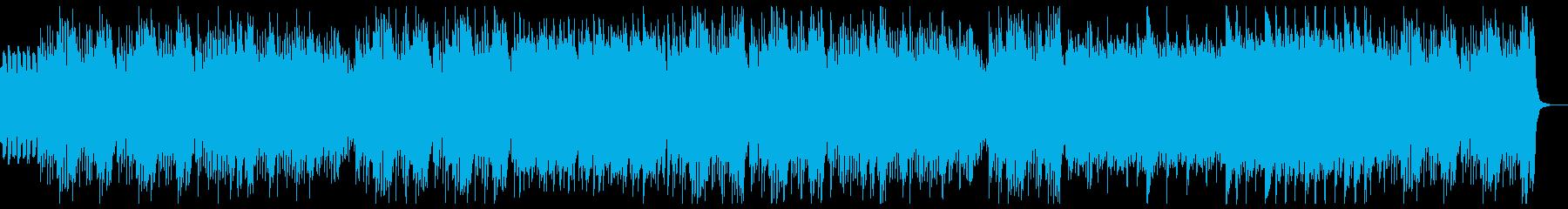 明るく楽しいキッズピアノの再生済みの波形