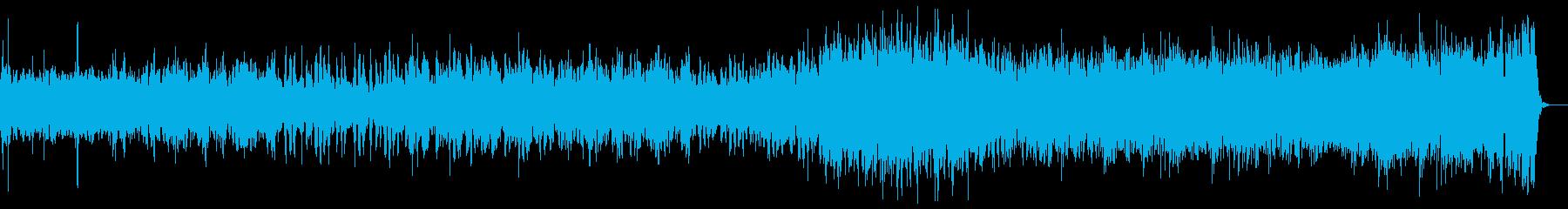 ケルト楽器を使った爽やかなポップスの再生済みの波形