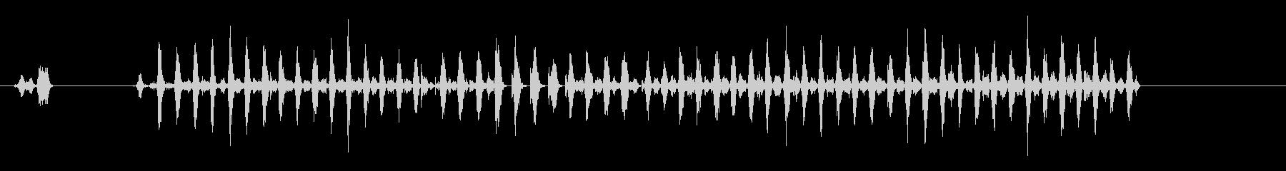 ウッドファイル2の未再生の波形