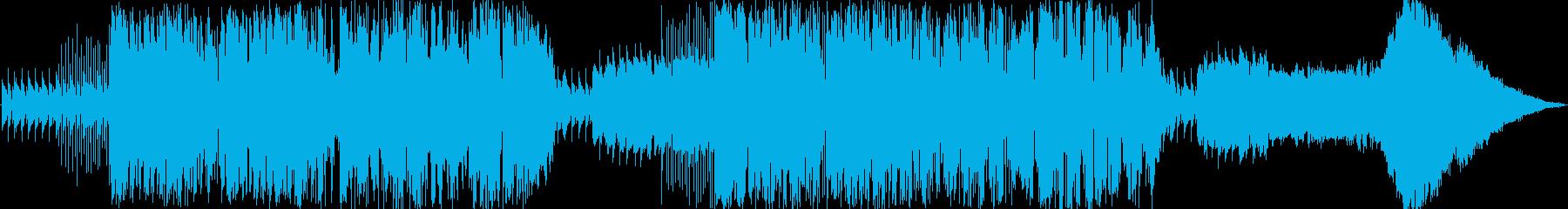アンビエント、フリージャズの再生済みの波形