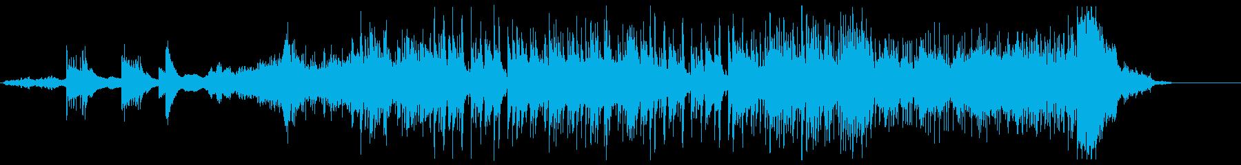 幻想的な和風曲(middle)の再生済みの波形