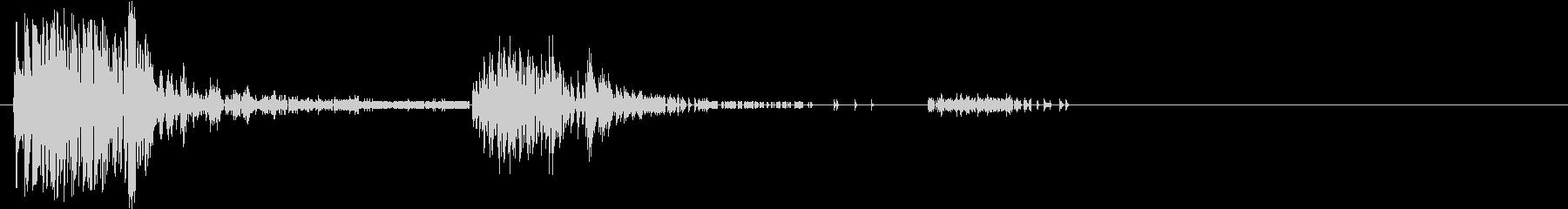 Noise デジタルノイズ 撃墜 大破の未再生の波形