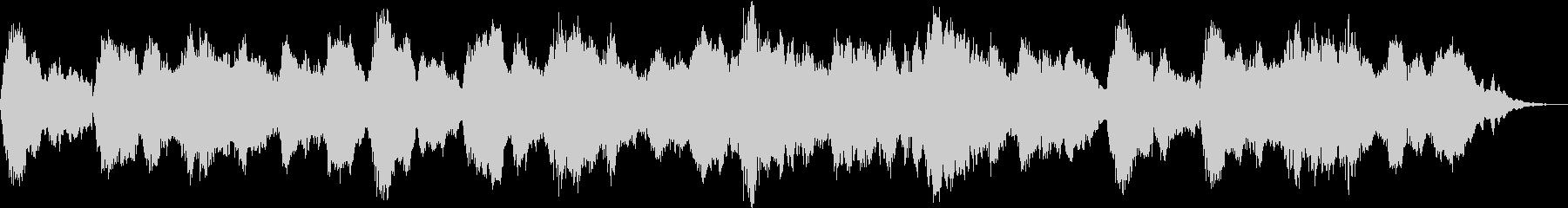 古楽風で幻想的なBGMの未再生の波形