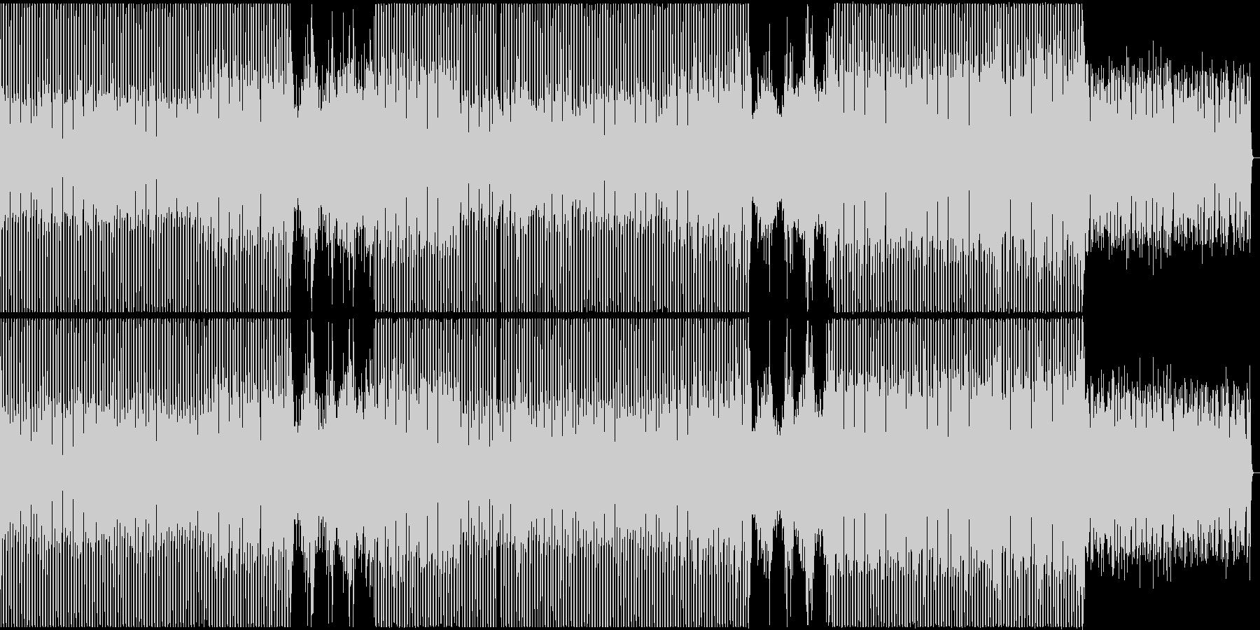 【歌】緊張感のある女性ボーカルポップスの未再生の波形