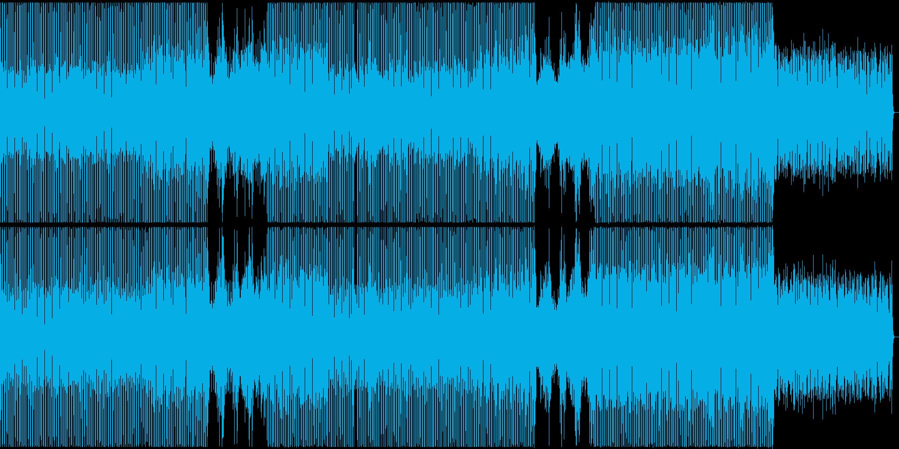 【歌】緊張感のある女性ボーカルポップスの再生済みの波形