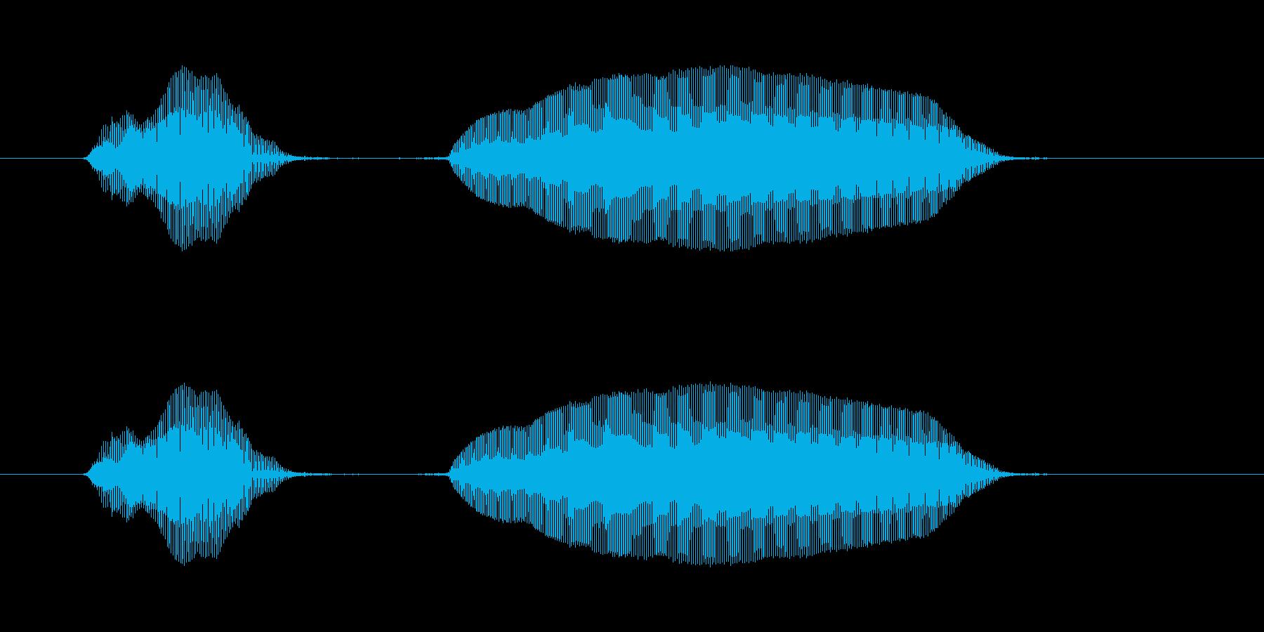 やっほー!の再生済みの波形