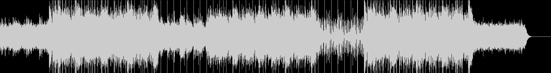 エレクトロの未再生の波形