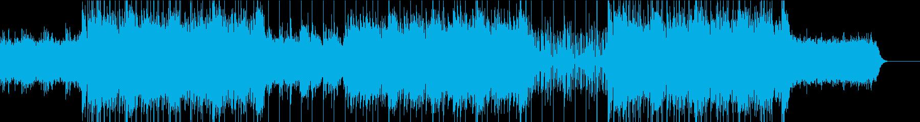 エレクトロの再生済みの波形