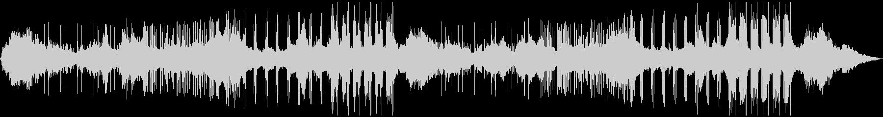ドローンアンビエント+ドラムの未再生の波形