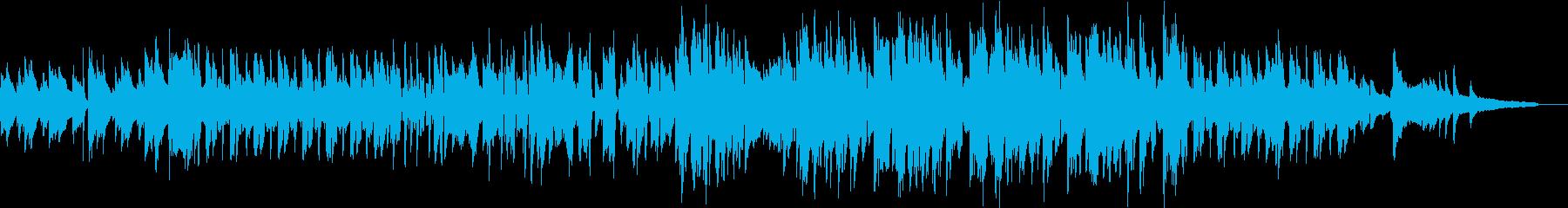 夏の涼しさをイメージしたピアノソロの再生済みの波形